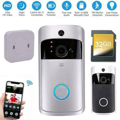 Wifi IP Camera Wireless CCTV 720P HD Home Security IR Cam Recordor Night Vision