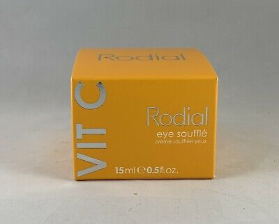 Rodial VIT C Eye Souffle Brighten and Renew Rich Eye Cream 15ml / .5 Fl Oz NEW