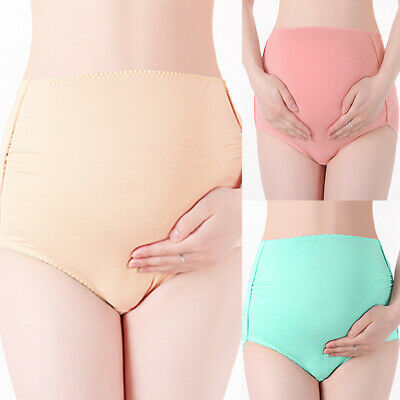 Maternity Pregnant Women Stretchy Panties Overbump Knickers Underwear Briefs