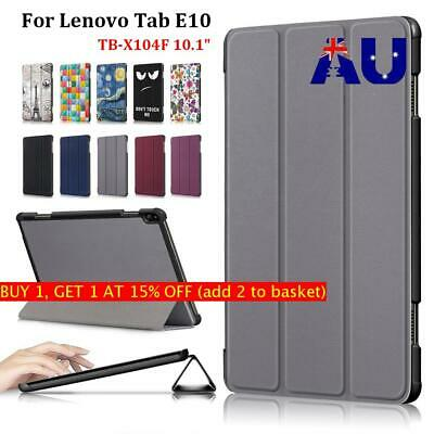 """Magnetic Ultra Slim Smart Leather Tablet Case For Lenovo Tab E10 TB-X104F 10.1"""""""