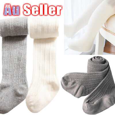 Warm 0-8Y Socks Infant Toddler Pantyhose Cotton Kids Girls Stockings Baby Tights