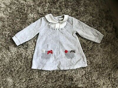 tutto piccolo Dress Grey 6-9 Months
