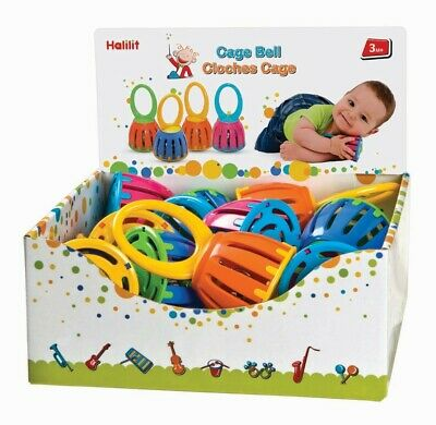 NEW Halilit Cage Bell Kids Children Toy
