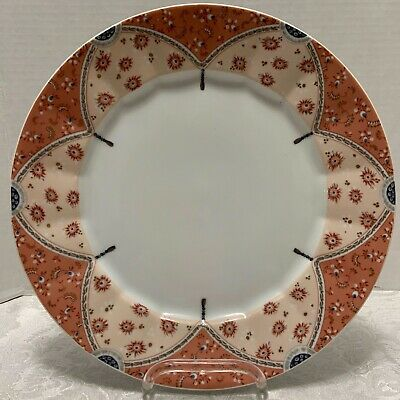 "ROYAL COPENHAGEN FAIRY TALE 627 Large DINNER PLATE Terra Cotta 10.75"" Flute Rim"