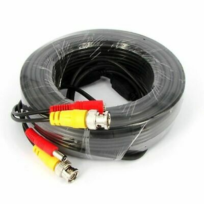 20m 30m 40m CCTV Cable Security Camera BNC Video Surveillance DVR Extension Lead