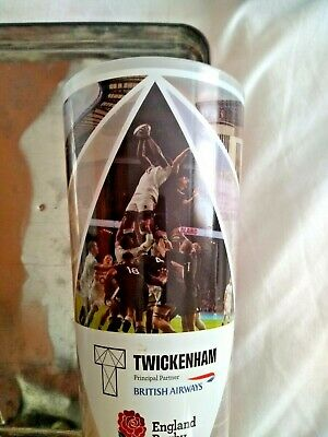 Twickenham Rugby Plastic Pint Cup England V Wales Game 5 Different Designs