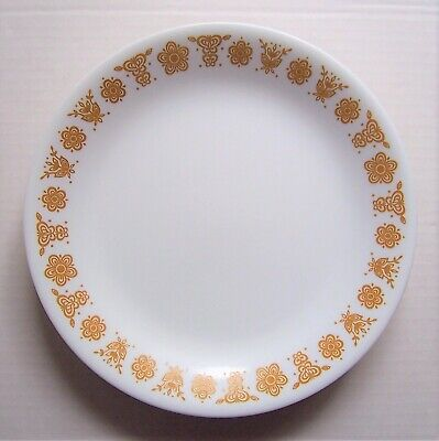 """Corelle BUTTERFLY GOLD 8.5"""" Luncheon Plates"""