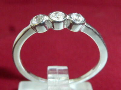 TOSH Ring Silberring 925 SILBER Sterling Silver anello bague Zirkoniastein GR.54