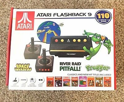 Atari Flashback 9 | Includes 110 Games - Frogger, Asteroids, Centipede - Save