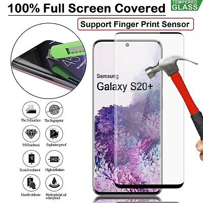 Film For Samsung Galaxy Note 10 Plus + 5G Tempred Glass Curved Screen Protector