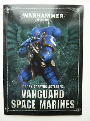 NEW Shadowspear Space Marine VANGUARD MARINES MINI CODEX - 40K