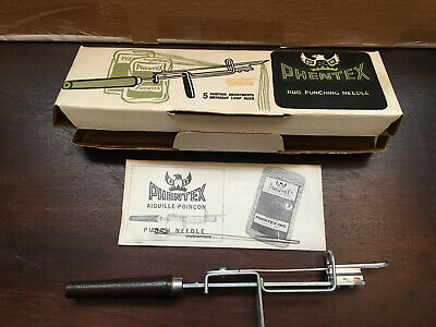 Phentex Rug Punching Needle with Box