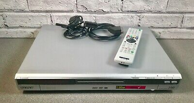 SONY RDR-HXD560 DVD RECORDER 80GB HDD SILVER with Integrated Freeview