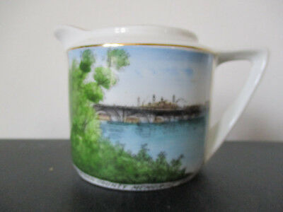 Circa 1910 Souvenir Creamer Hampdon County Bridge Springfield Massachusetts #BP