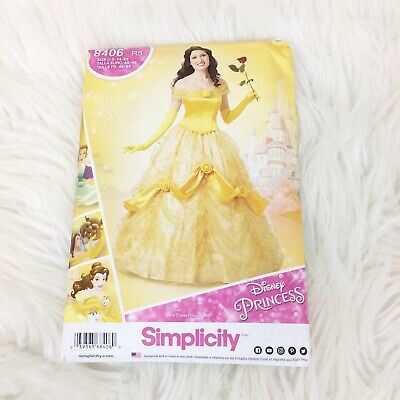 S8406 Simplicity 8406 Sewing Pattern Disney Beauty Beast Misses/' Costume Belle