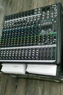 Mackie ProFX16 V2 16-Channel Professional 4-Bus Effects Mixer With USB--