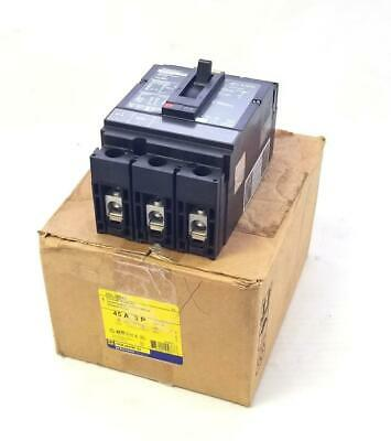 Square D HDL36045 Circuit Breaker 45 A 3 Pole