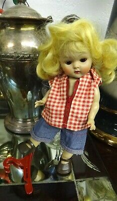Vogue Ginny Doll OUTFIT ONLY Tagged Talon Zipper Red Check Shirt Pant Shoes 1754