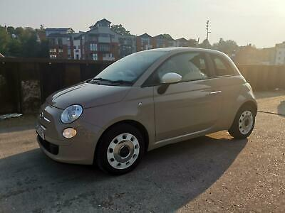 2013 Fiat 500 1.2 ( 69bhp ) Colour Therapy BEIGE SALVAGE DAMAGED REPAIR CAT