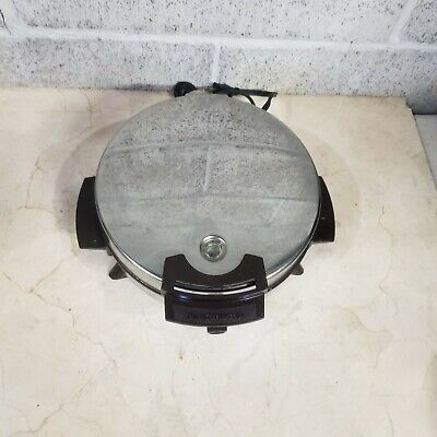 "Vintage Toastmaster Waffle Iron Maker 8"" W252F Nonstick Made In Usa!!"
