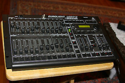 Behringer EUROLIGHT LC2412 Pro 24 Channel DMX Lighting Console