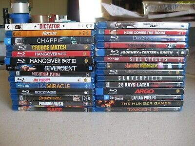 Movie Night!! <Pick and Choose> Lot Blu-ray Horror Comedy Thriller Bluray DVD