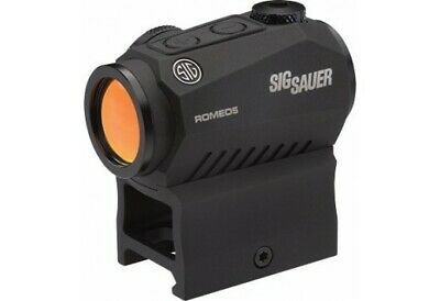 Sig Sauer Romeo 5 1x20mm Compact Red Dot Sight 2 MOA, Black - SOR52001