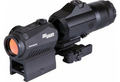 Sig Sauer ROMEO5/Juliet3 COMBO Red Dot Sight and Magnifier Black SORJ53101