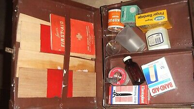 Collectable Vintage first aid box