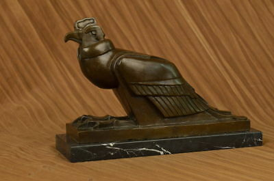 An Egyptian Style Figure Of The Horus Falcon New Kingdom By European Bronze Sale