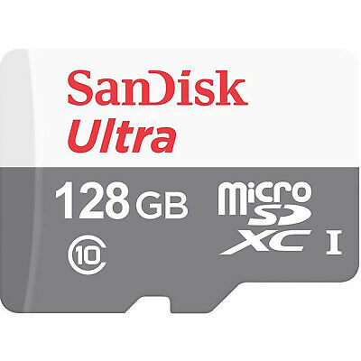 US Seller Ultra SanDisk Memory 128GB 128 G Micro SD SDXC MicroSD Class 10 80MB/s