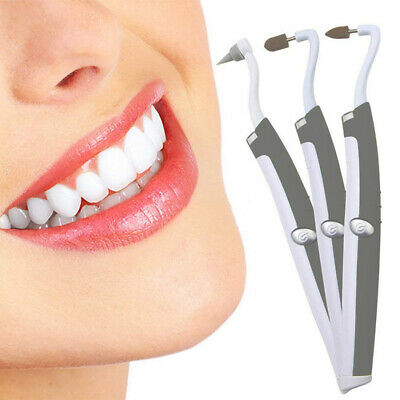3in1 Sonic LED Teeth Whitening Kit Electric Dental Tooth Polishing Stain Remover