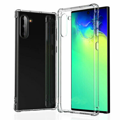 For Samsung Galaxy Note 10/ Plus S10 S10e Case Clear Shockproof Bumper Cover Sw