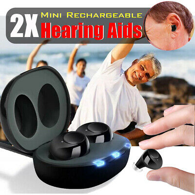 🇦🇺Rechargeable In-visible Hearing Aids Digital Adjustable Tone Sound Amplifier