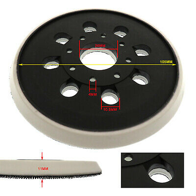 """5"""" 8Holes Sandpaper Machine Chassis Sanding Back Pad for BOSCH GEX125-1A Sander"""