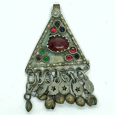 Late/Post Medieval Ottoman Empire Jewelry Pendant Islamic Talisman Middle East