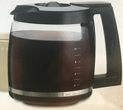 Cuisinart DCC-1200PRC 12-Cup Replacement Glass Carafe Black