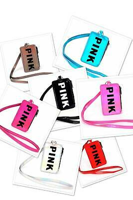 New! Victoria's Secret Pink Holographic Lanyard