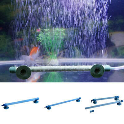 Fish Tank Aquarium Air Stone Bubble Wall Tube Aeration Pump Diffuser Welcome