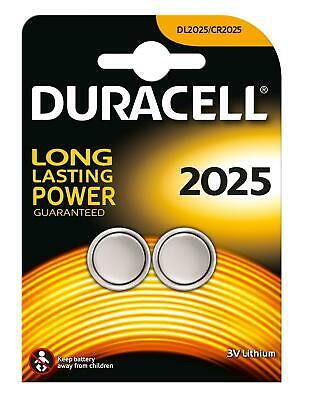 Duracell Battery Specialty CR2025 2 Pieces
