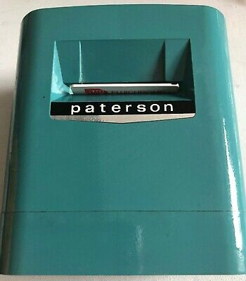 Vintage Paterson Viscount Illuminated Viewer Blue/Grey Vgc!