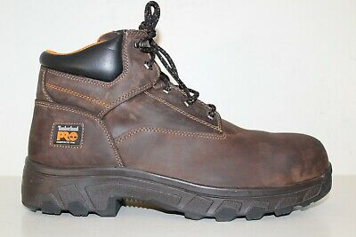 TIMBERLAND PRO WORKSTEAD S3 brown dealer safety boot with