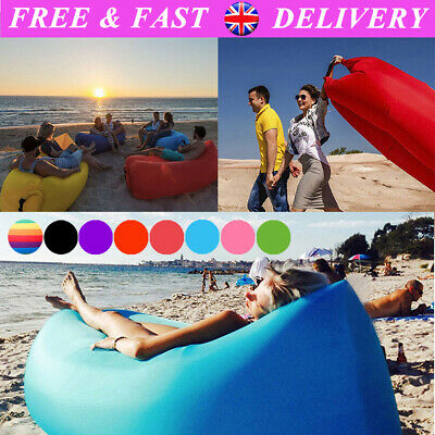 Enjoyable Lazy Inflatable Air Bed Sofa Lounger Couch Chair Bag Hangout Ocoug Best Dining Table And Chair Ideas Images Ocougorg