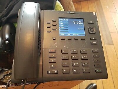 Mitel 6867i VOIP Telephone Handset with Stand, Power Supply and Cable