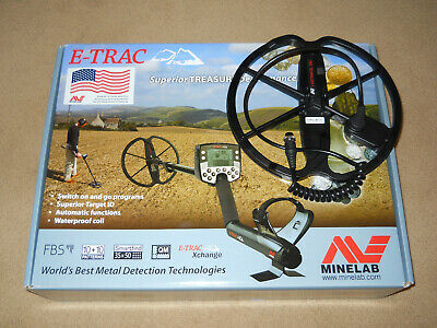 "MINELAB E-Trac Metal Detector 11"" DD Stock Coil for FBS Series"