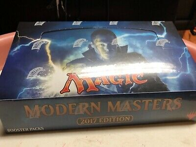 MODERN MASTERS 2017 BOOSTER BOX - Magic The Gathering MtG English - NEW / SEALED