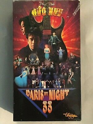 Paris by Night 33 VHS Video Tape ~ Vietnamese Music