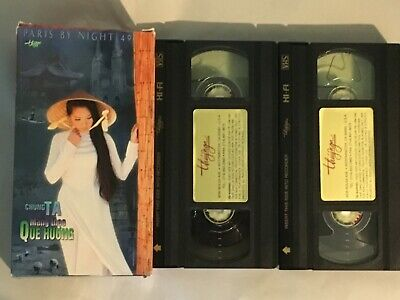 Paris by Night 49 VHS Video Tape ~ Vietnamese Music