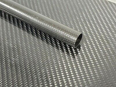 Carbon Fiber Tube Plain Weave .95 x 1.0 x 18 inch (listed 8-28-19)