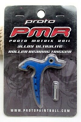 NOS Warrior Paintball Proto Push Buttons Blue